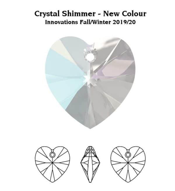 6228 Crystal Shimmer 600x655, Engel Erzengel mit Swarovski® Elementen