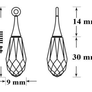 6530 65M001 44mm 63 300x300, Engel Erzengel mit Swarovski® Elementen