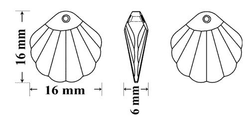CS-7GreenWhite-ShellCrystalShimmer