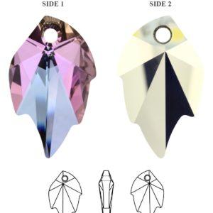 6735 Crystal Vitrail Light 300x300, Engel Erzengel mit Swarovski® Elementen