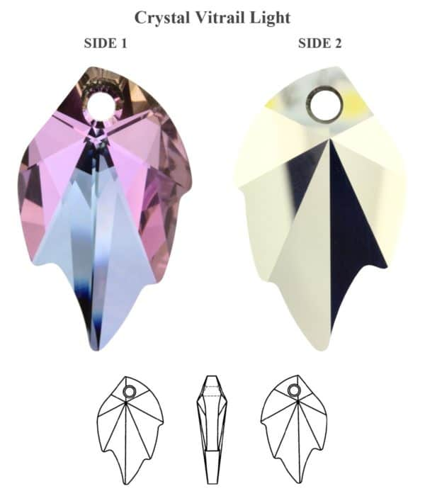 6735 Crystal Vitrail Light 600x700, Engel Erzengel mit Swarovski® Elementen