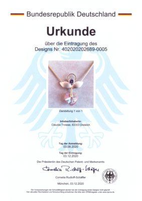 , Explore, Engel Erzengel mit Swarovski® Elementen