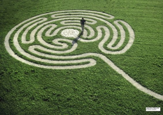 Symbolschmuck Labyrinth